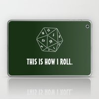 D20  Laptop & iPad Skin