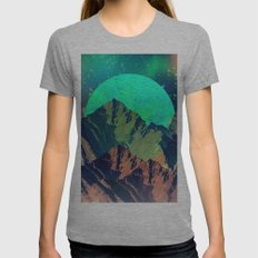 Mountain Womens Fitted Tee Athletic Grey SMALL