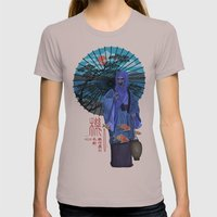 Wagasa Womens Fitted Tee Cinder SMALL