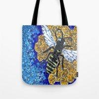 Honey Bee Tote Bag