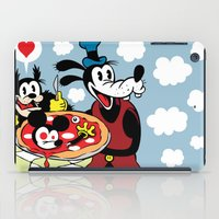 MICKEY'S PIZZA iPad Case