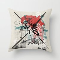 I Remember Nothing Throw Pillow