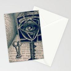 i saw everything Stationery Cards