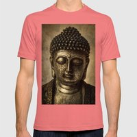 Meditation Mens Fitted Tee Pomegranate SMALL
