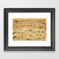 In every grain of sand Framed Art Print