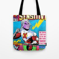 Mister Sensitive #1 Tote Bag