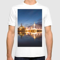 Winnipeg, MB, Canada Mens Fitted Tee SMALL White