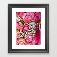 :: Hello, My Love :: Framed Art Print
