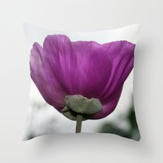 Flower Dress Throw Pillow