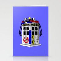 Tardis-1 Stationery Cards