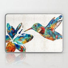 Colorful Hummingbird Art… Laptop & iPad Skin