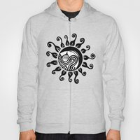 Ocean Sun Original Abstract Illustration Hoody