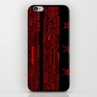 DC Flag Red iPhone & iPod Skin