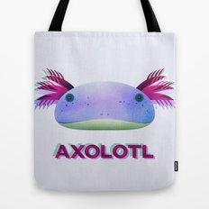 Axolotl Friend Tote Bag