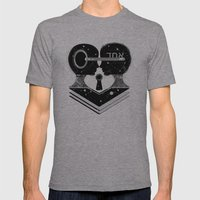 UNO Mens Fitted Tee Athletic Grey SMALL
