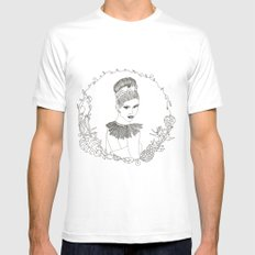 Tropicana Mens Fitted Tee SMALL White