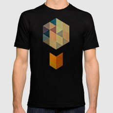 synthys Mens Fitted Tee Black SMALL
