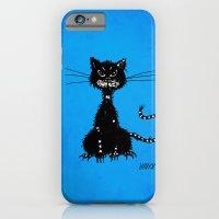 Ragged Evil Black Cat (b… iPhone 6 Slim Case