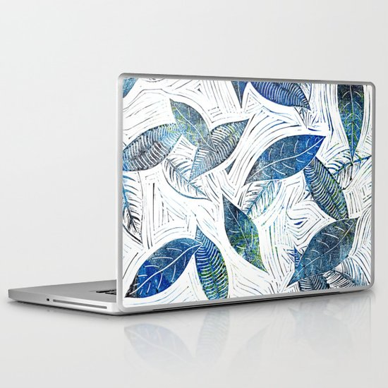 Blue Days of Winter Laptop & iPad Skin