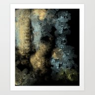 Art Print featuring Textured Metal by Jessielee