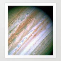 Jupiter by Society6 Planet Prints Art Print