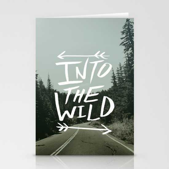 Into the Wild II Stationery Card