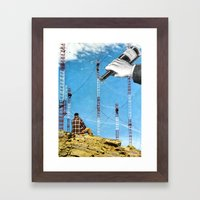 To Those Who Care, And Those Who Don't Framed Art Print