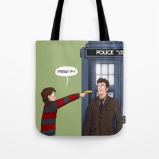 Villengard Surprise - Doctor Who Tote Bag