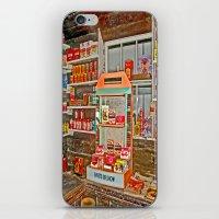 The Old Corner Shop. iPhone & iPod Skin