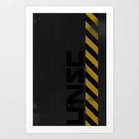UNSC Hardcase Art Print