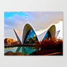 Aquarium: Valencia, Spain Canvas Print