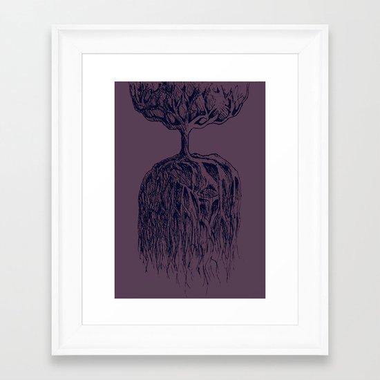 One Tree Planet Framed Art Print