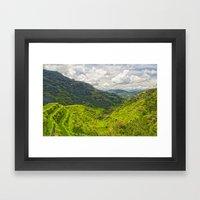 Banaue Rice Terraces Phi… Framed Art Print