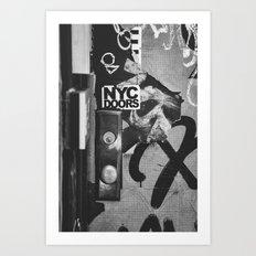 NYC Doors Art Print