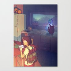 The Glass Boy Canvas Print