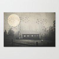 Dream A Little Dream....… Canvas Print