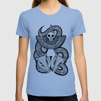 Coroner's Joke No.2 Womens Fitted Tee Athletic Blue SMALL