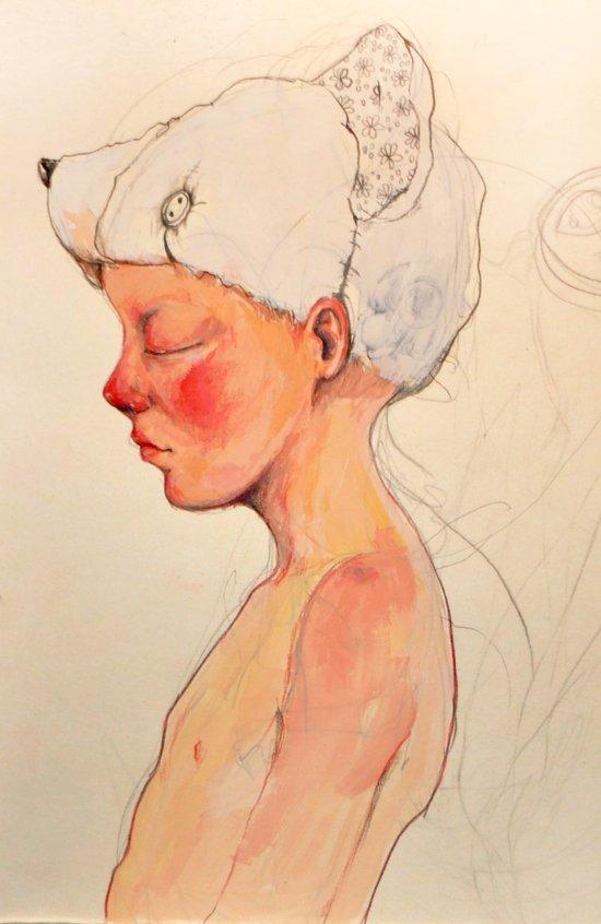 Little dreamer Canvas Print