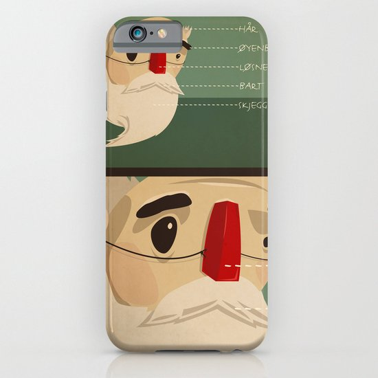 Fake nose iPhone & iPod Case