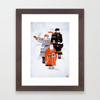 Fargo TV Series Poster Framed Art Print
