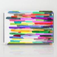 Colorful Stripes 4 iPad Case