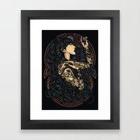 Unblessed Live Framed Art Print