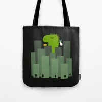 Clean monster Tote Bag