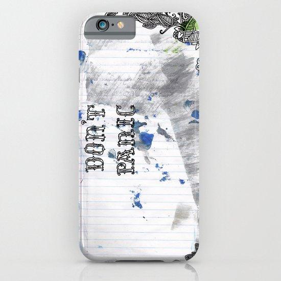 don't panic iPhone & iPod Case