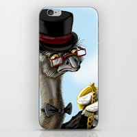 The Fancy Ostrich iPhone & iPod Skin