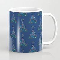 Christmas Trees Pattern Mug