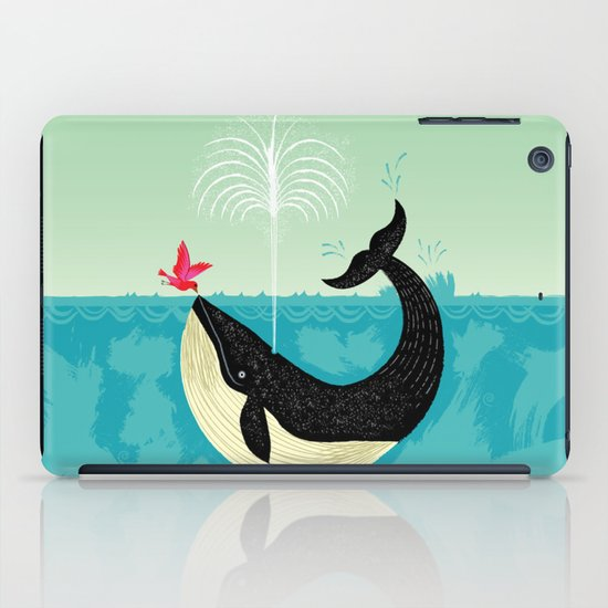 The Bird and The Whale iPad Case