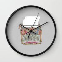 I DON'T KNOW WHAT TO WRI… Wall Clock