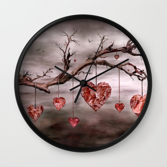 The new love tree Wall Clock