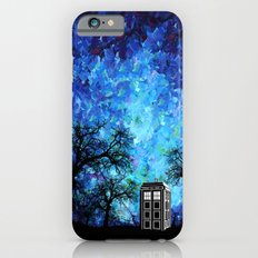 Lonely Tardis Doctor who Art painting iPhone 4 4s 5 5c 6, pillow case, mugs and tshirt Slim Case iPhone 6s